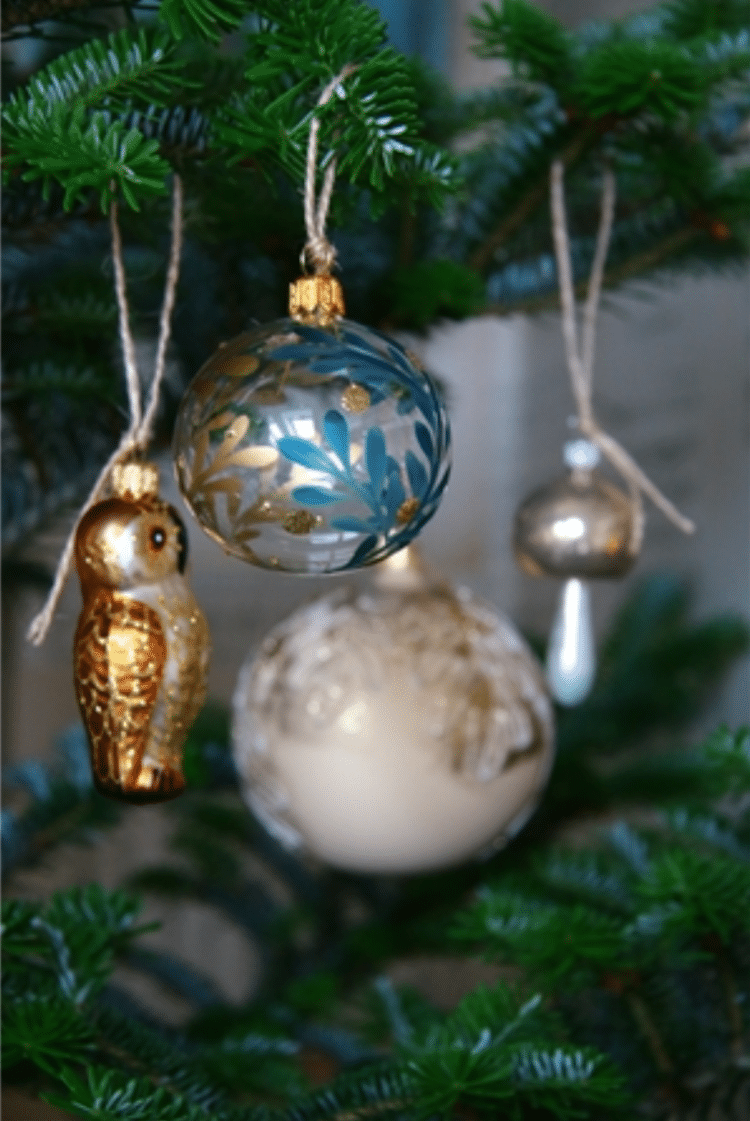 deco de noel boule verre sapin made in europe