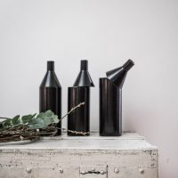 céramique bouteille vase francais made in france artisanal poterie gres