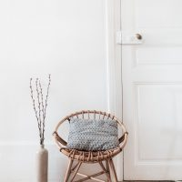 petite chaise rotin occasion france