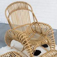 rocking chair ecoresponsable naturel mobilier fauteuil rotin écologique sans cov