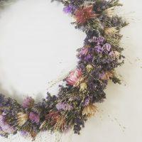 couronne de fleurs champetre