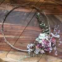 couronne fleurs séchées écologiques locales bordeaux france