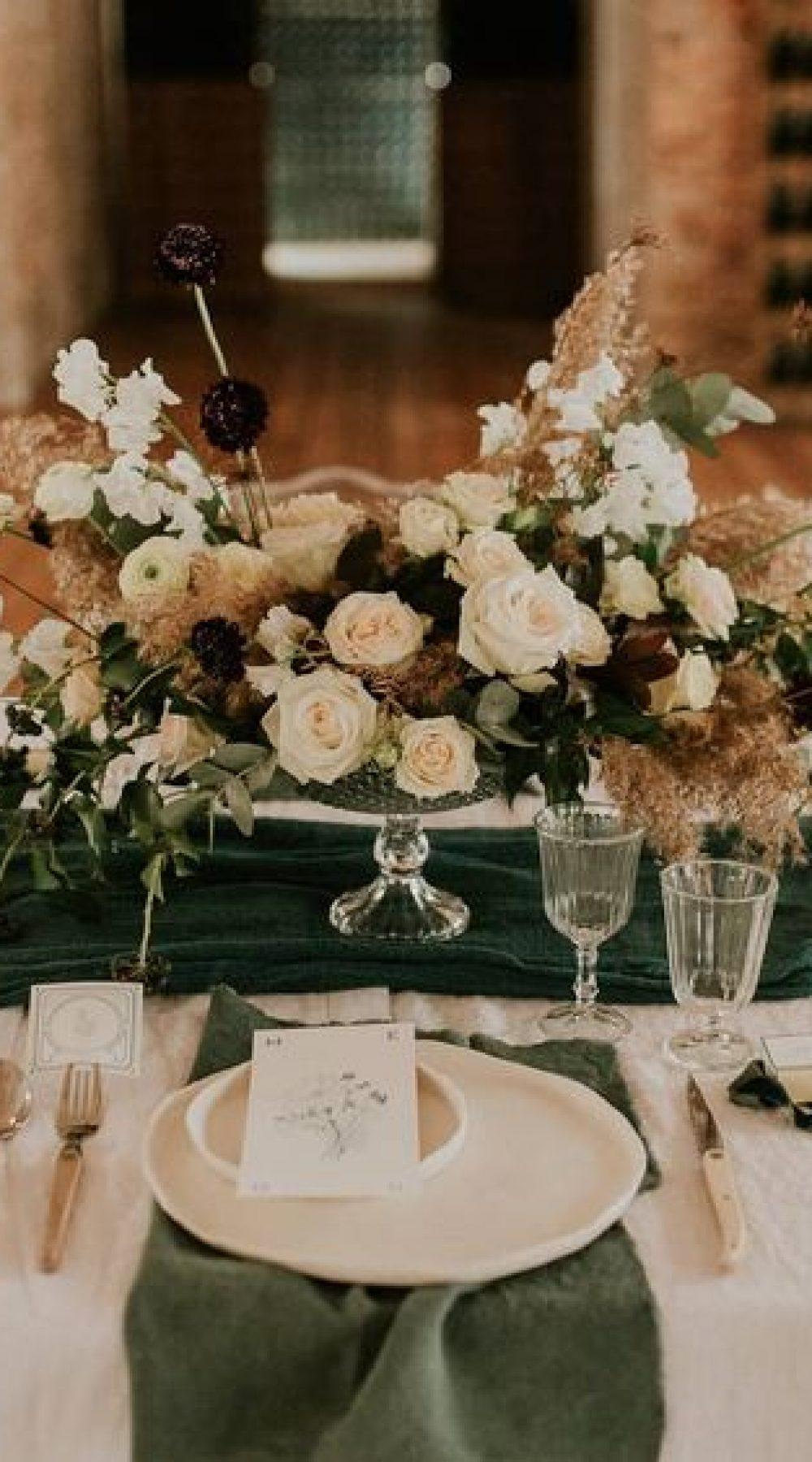 table de mariage teinture vegetale chemin de table serviettes artisanat made in france